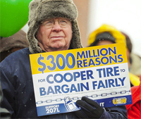 Cooper Tire Lockout